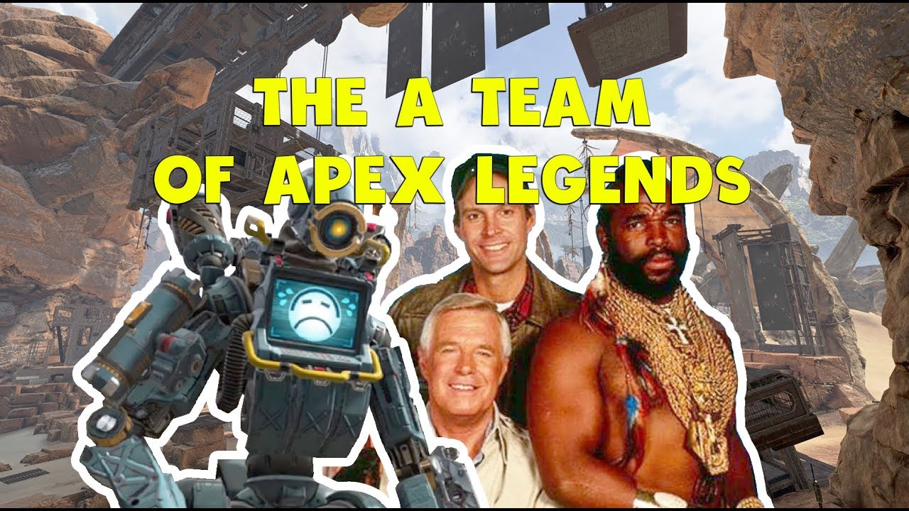 The A-Team of APEX LEGENDS | Funny Moments