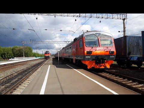 Отправление ЭД4М-0350 со станции Инская