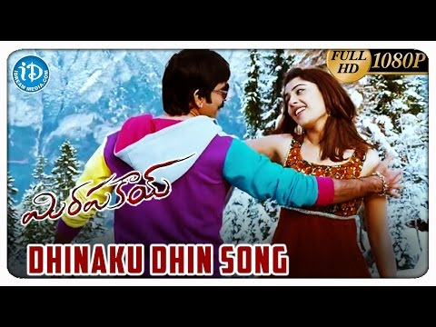 Mirapakay Movie HD Video Songs - Dhinaku Dhin Song | Ravi teja | Richa Gangopadhyay | Deeksha Seth