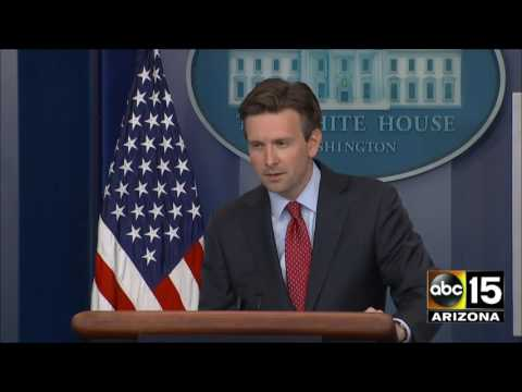 Josh Earnest STILL SICK of answering the media's questions about the $400 million payment to Iran