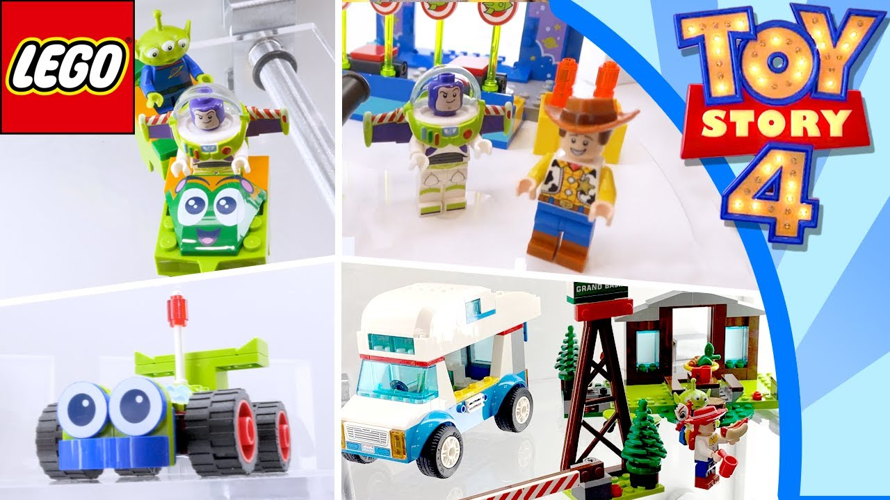 New Toy Story 4 Lego Sets New York Toy Fair 2019 Youtube