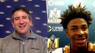 Murray State's Ja Morant talks about injury battles, March Madness goals