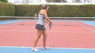 MARIA CATALINA CABARIQUE TENNIS PROMOTION VIDEO SPRING 2019