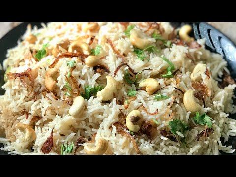 Cashew nut pulao recipe kaju pulao recipe