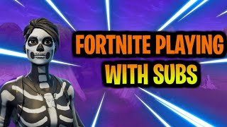 Fortnite//Playing with subs//300+Wins//custom matchmaking tournament zone wars//Give away 1v1s subs