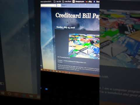 CreditCard Reload Service & Bill Pay