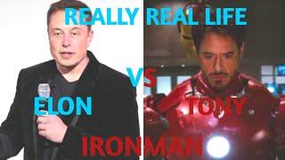 Comparism: Elon Musk and Tony stark including (IQ,Age,Networth etc) #2