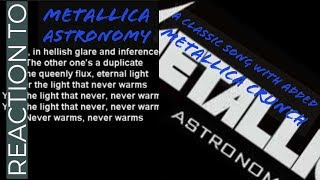 Metallica - Astronomy (A Classic Cover) Reaction/Review