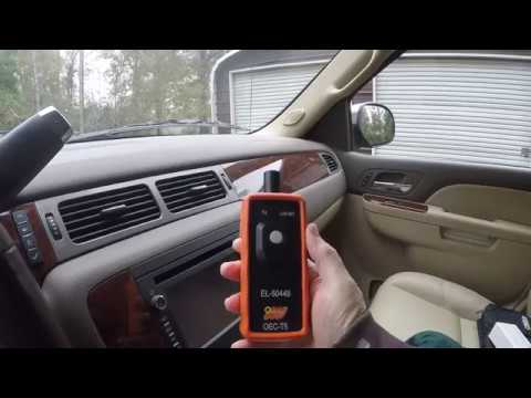 Tire Pressure Monitor System Re-Learn Tool