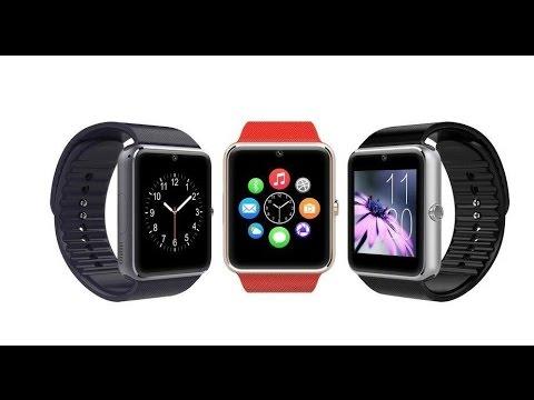 Bluetooth Smartwatch GT08 Smart Watch for iPhone 6/5 Android # 008 Распаковка посылок с ebay