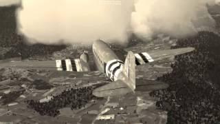 flightgear douglas dc3 c47 jsbsim largage de parachutistes avril 2014