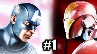 Marvel: Ultimate Alliance 2 - Gameplay Part 1 - Beginning