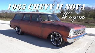 1965 Chevy II Nova Party Wagon in 4K