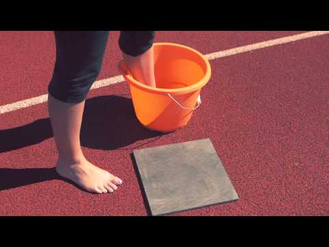 Take the Wiggle Wet Test: Learn Your Foot Type