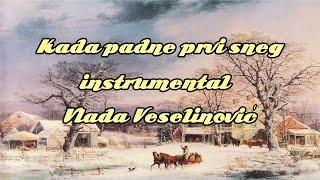 Kada padne prvi sneg (Zvonko Bogdan) - instrumental - Vlada Veselinovic