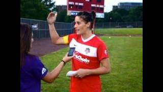 Ali Krieger talks about her ACL