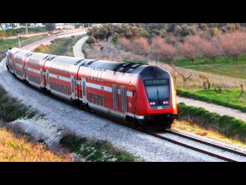 The new Tel Aviv to Jerusalem high speed train הרכבת המהירה לירושלים