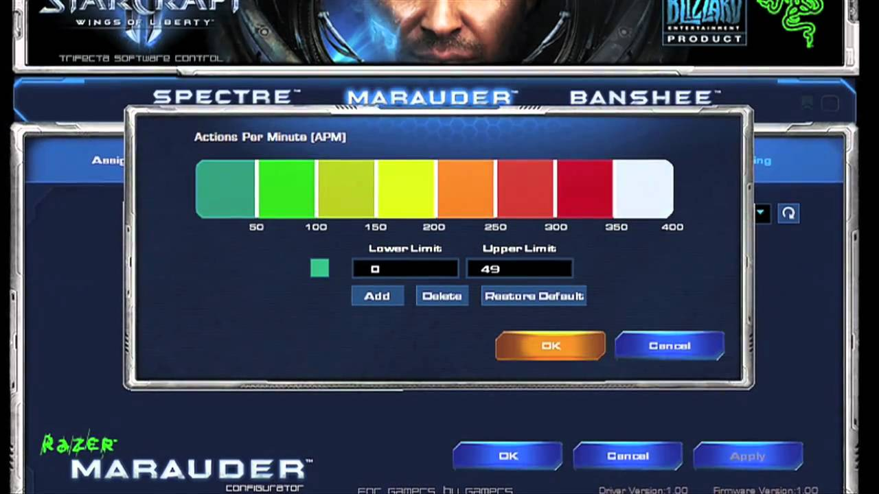 Razer StarCraft II Download Drivers