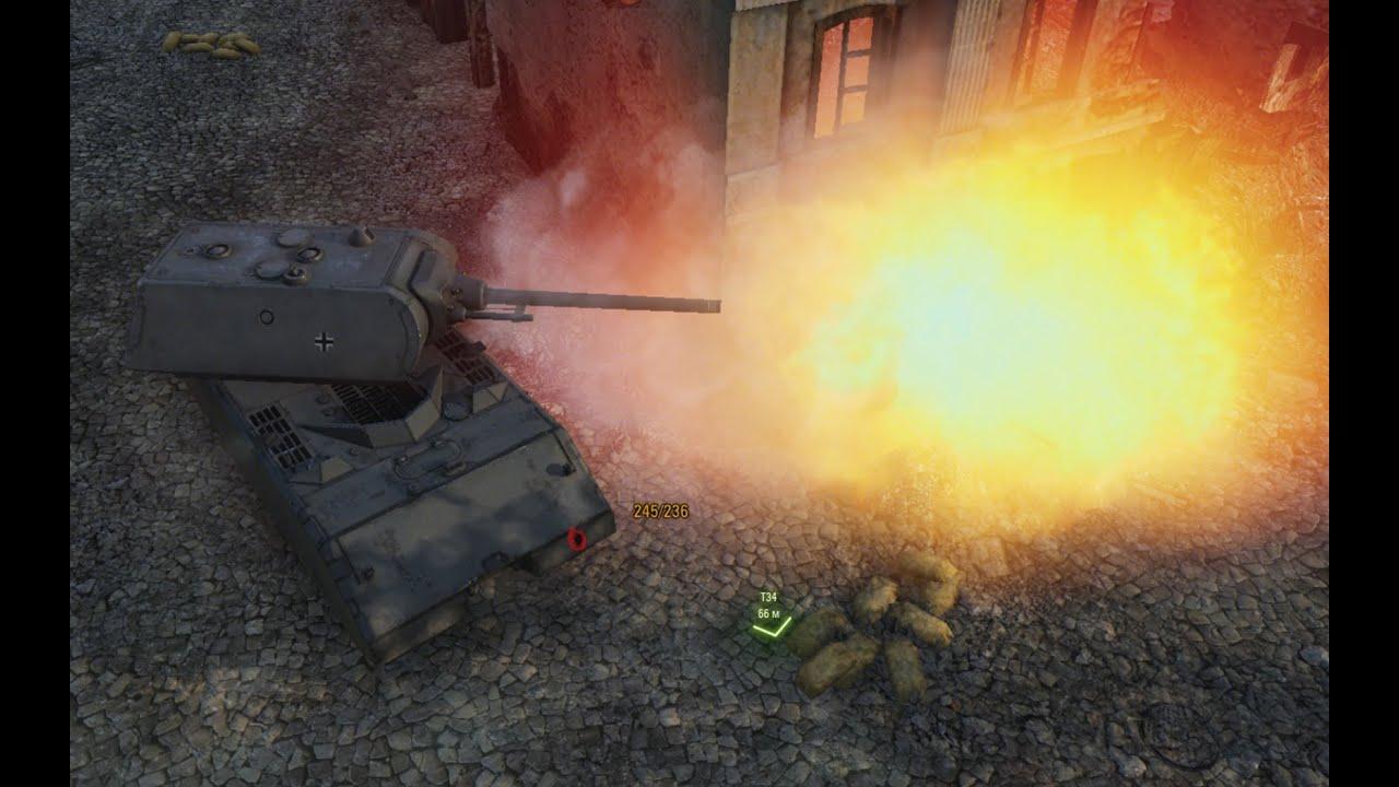 взрыв боеукладки в war thunder