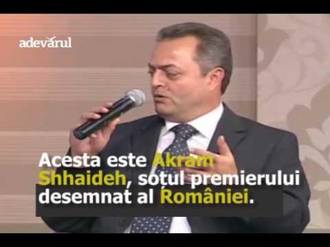 Sotul premierului desemnat al Romaniei, Akram Shhaideh, neaga evenimentele din Siria