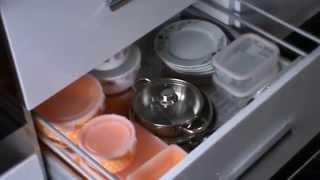 yeni model mutfak dolapları kapak modelleri ve aparatları