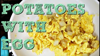 Eggs and Potatoes Recipe   How To Cook PAPAS CON HUEVO   Simply Mama COoks