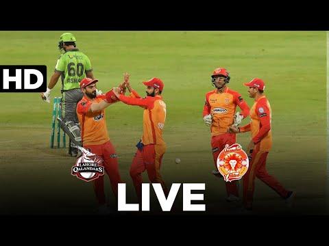 LIVE REPLAY – Lahore Qalandars vs Islamabad United | 2nd Innings | Match 20 | HBL PSL 6