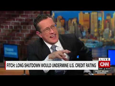 How could the shutdown affect the U.S.'s credit rating?