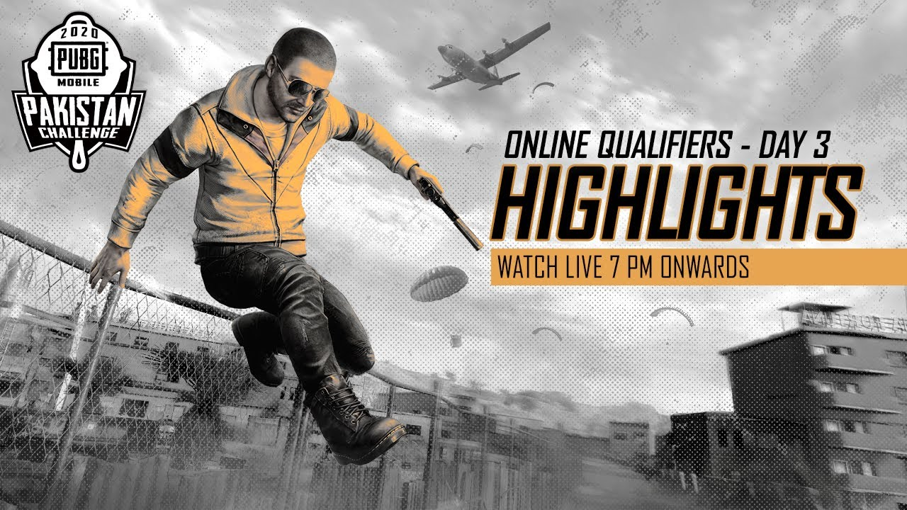 [Highlights] PMPC 2020 Online Qualifiers Day 3 - PUBG MOBILE Pakistan Challenge