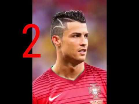 4 mejores cortes de pelo cristiano ronaldo YouTube