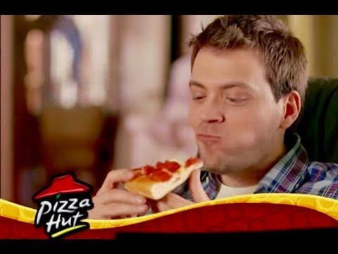 James Di Giacomo in a Pizza Hut commercial