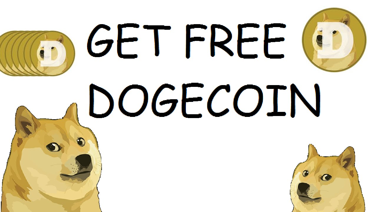 How to get free dogecoin! - YouTube