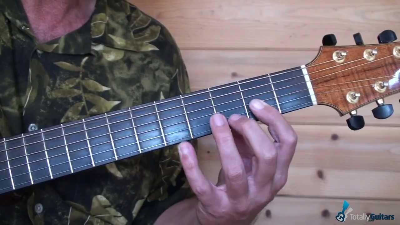Forever In Blue Jeans Guitar Lesson Preview Youtube