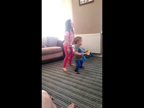 Caitlin and Joseph Carr dancing