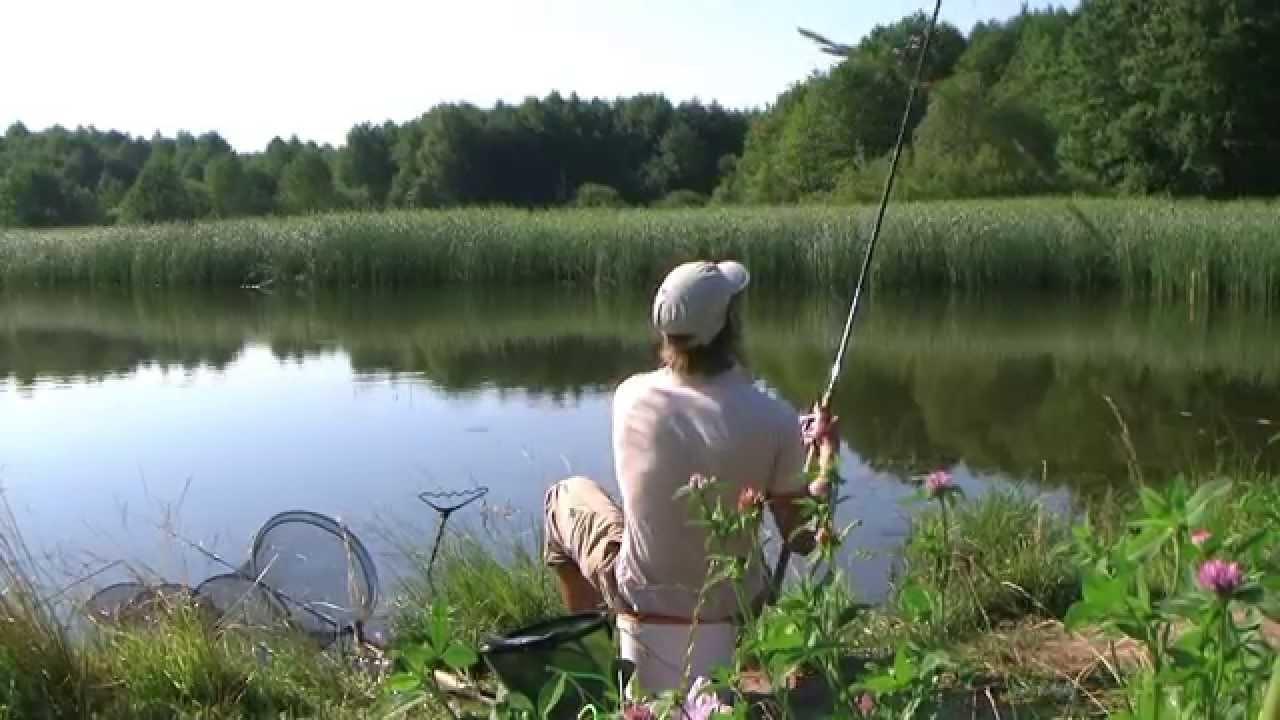 ловля карася получай глухих озерах