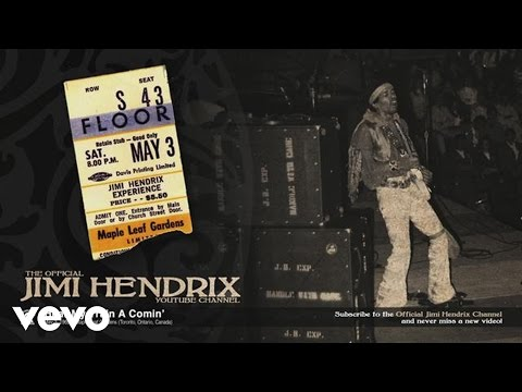 Jimi Hendrix - Hear My Train A Comin' (Toronto 1969)