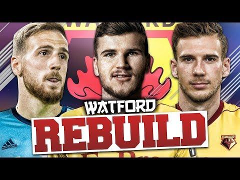 REBUILDING WATFORD!!! FIFA 18 Career Mode