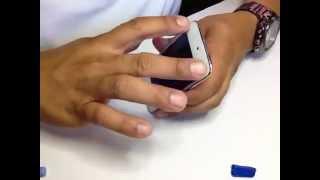 iPod Touch 4G, Como cambiar la pantalla rota ( Parte 3 )