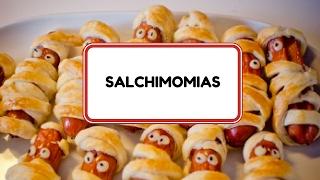 Salchi-Momias Receta facil HALLOWEEN Thumbnail