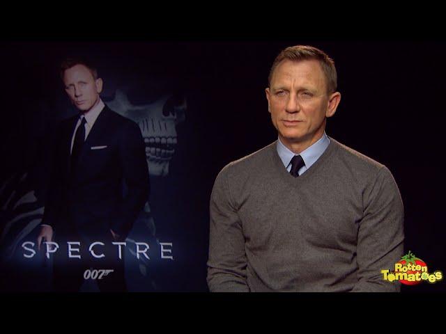 "SPECTRE Interview: Daniel Craig: ""I'm Not Gone Yet"""