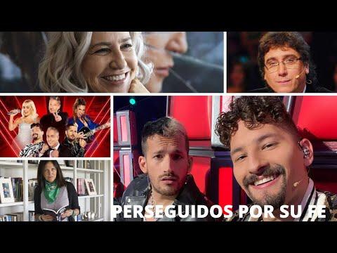 Quieren sacar a Los Montaner de La Voz Argentina por su Fé?
