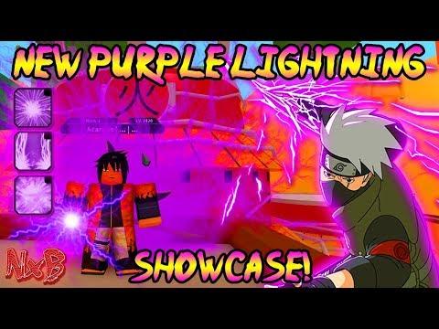 [BIG CODE!] NEW PURPLE LIGHTNING KEKKEI GENKAI SHOWCASE (VERY OP) | Naruto RPG: Beyond