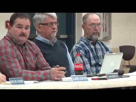 Blanchester Board of Education Meeting December 2015