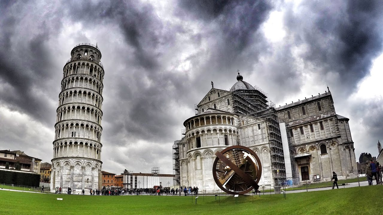 Tuscany Italy Winter Trip Florence Pisa Lucca K GoPro - Italy in the winter