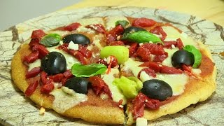 🍕speedy No-knead-roll-oven Required Pizza Bring The Heat With Mezzetta Giveaway