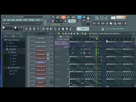 quisiera alejarme  Wisin Ft Ozuna(instrumental)