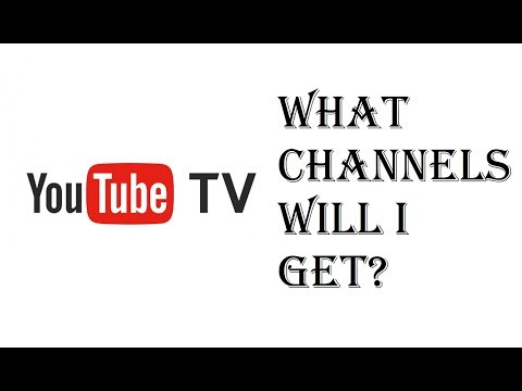Youtube TV - What Channels Will I Get? - Youtube TV Add-Ons - Youtube Red - Review