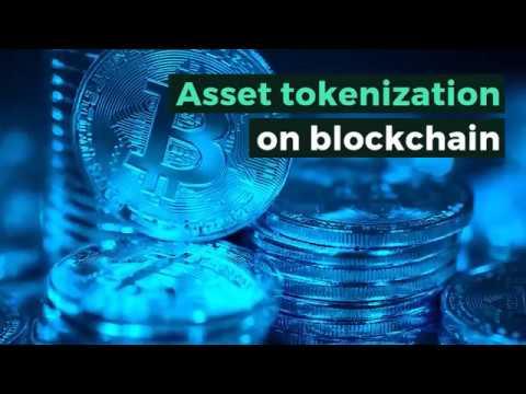 Asset tokenization on blockchain