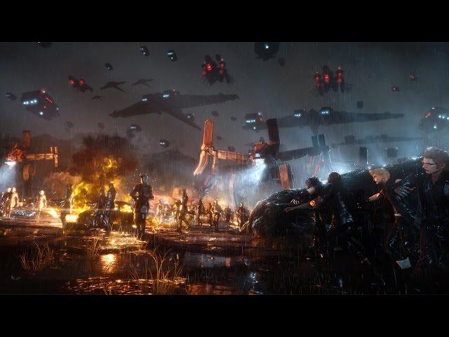 Final Fantasy XV - Bataille de la base de Niflheim