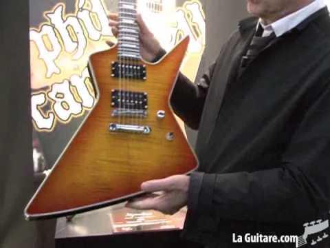 musikmesse 2009 - lag guitars - Phil Campbell signature